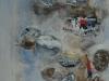 8.- AiguaBlava V, 2017, oli s/paper, 50x40 cm
