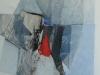 28.- composición, oli s/tela (2011) 40x40 cm