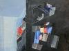 26- Blau i Negre, oli s/ cartó (2000) 60x90 cm