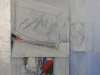 29.- composición, oli s/tela (2011) 30x30 cm